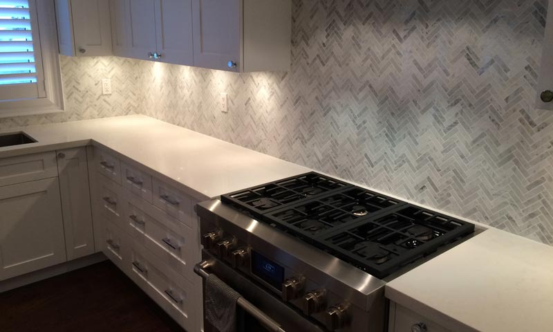 backsplash installation in barrie